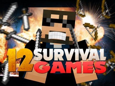 Minecraft Hunger Games 12 - NO ARMOR CHALLENGE!!