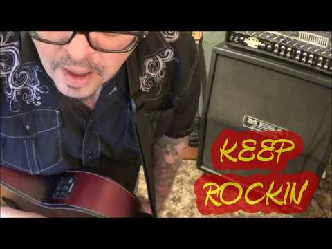 Vern Gosdin - Jesus Hold My Hand(intro) - Guitar Lesson by Mike Gross