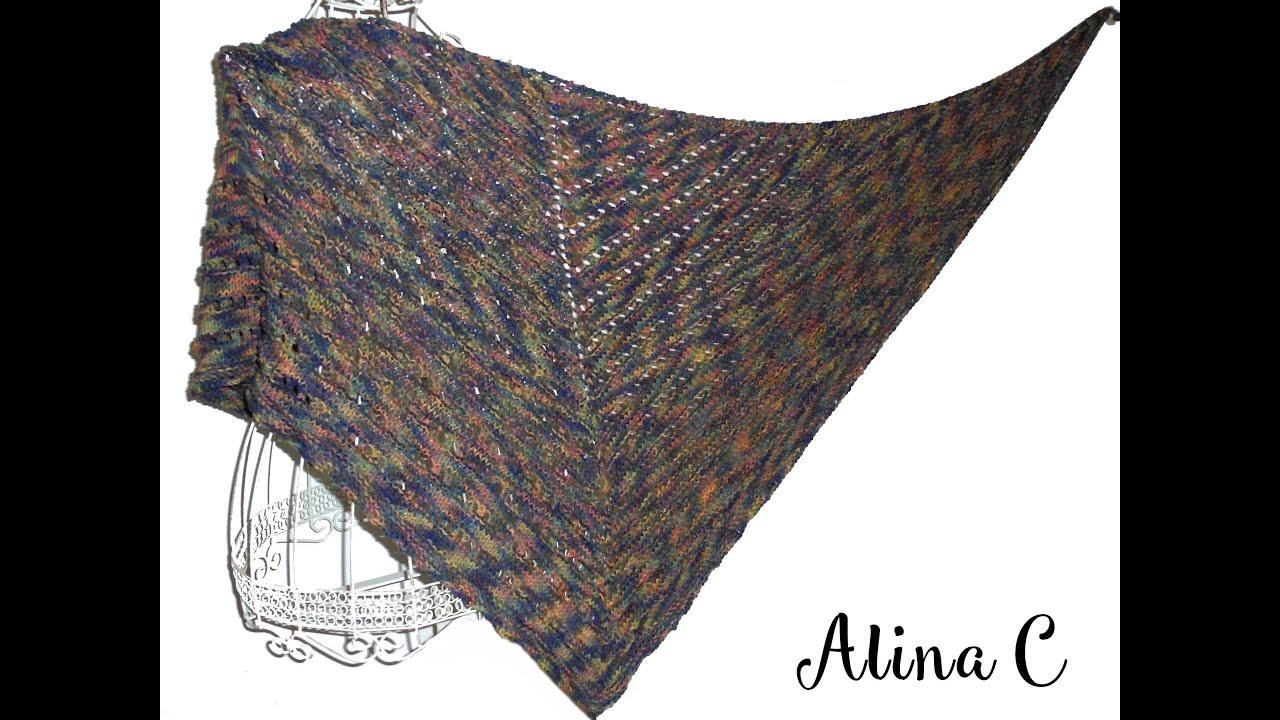 design popolare acquista il più recente Acquista i più venduti lilla's tutorials: scialle traforato ai ferri Amami / Amami knitted shawl