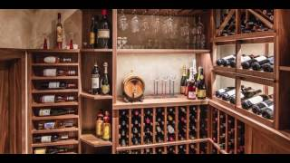 Wine Cellar Design by Papro Consulting, 'Traditional Walnut'