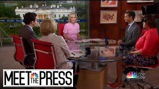 Full Panel: Trump vs. Congress As President Promises To Fight Subpoenas | Meet The Press | NBC News