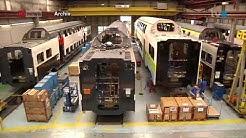 Neue Fabrik der Stadler Rail