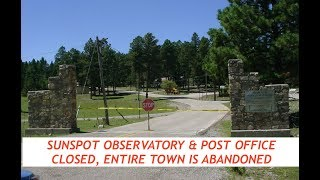 FBI Closes Sunspot Observatory, Entire Town Now Abandoned, On Scene