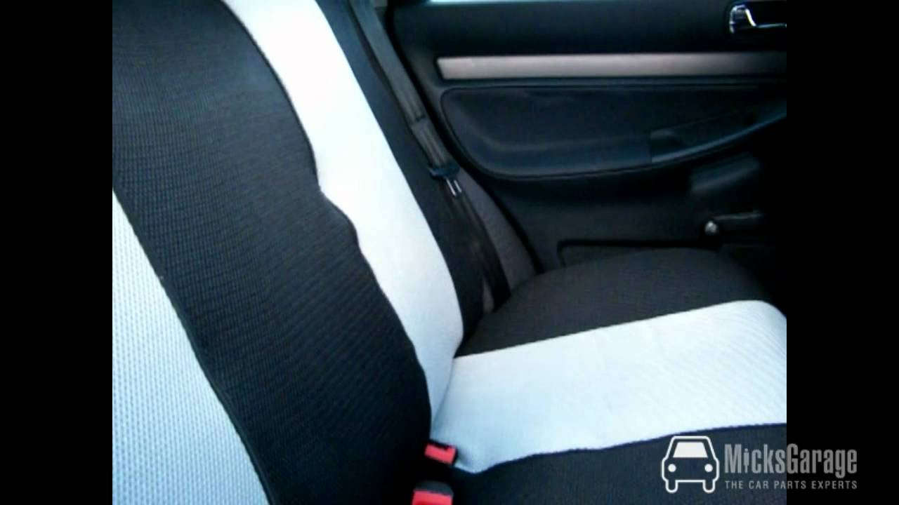 Gecko Car Seat Covers From MicksGarage - YouTube