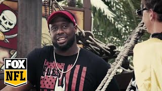 Gerald McCoy sets sail to talk superheroes with Cooper Manning   MANNING HOUR   FOX NFL