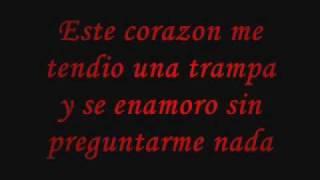 Este Corazon CON LETRA.