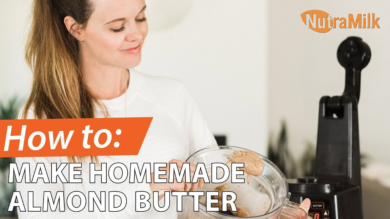 The Brewista NutraMilk: Making Fresh Almond Butter in Just Minutes