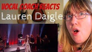 Vocal Coach Reacts to Lauren Daigle 'Still rolling stones' Ellen Debut