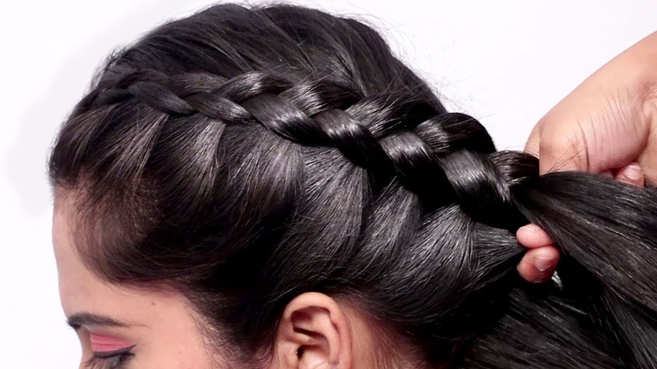 Beautiful Hairstyles for Wedding/Party || Simple Hairstyles || Hair Style Girl