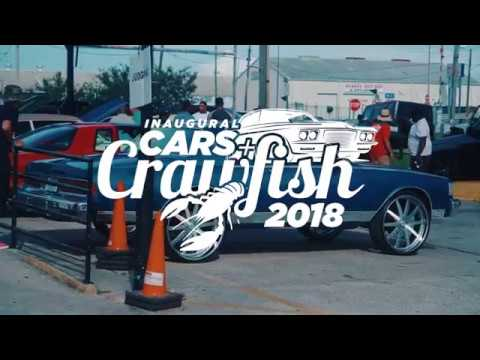 Inaugural Cars and Crawfish 2018 (Official Video)
