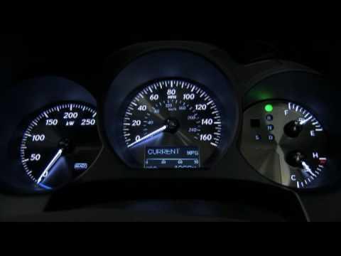 New Lexus GS 450h 2010 Interior - YouTube