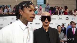 Wiz Khalifa & Amber Rose: Billboard Music Awards Red Carpet 2014