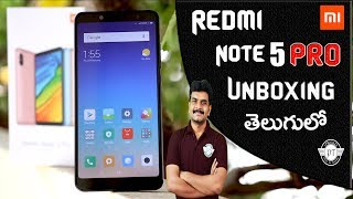 Redmi Note 5 Pro Unboxing & initial impressions ll in telugu ll