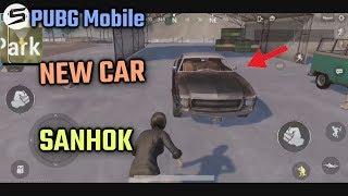 PUBG Mobile 0.8 Update New Car In SANHOK Map!
