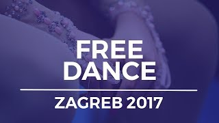 Marjorie LAJOIE / Zachary LAGHA CAN Ice Dance - Free Dance- Zagreb 2017