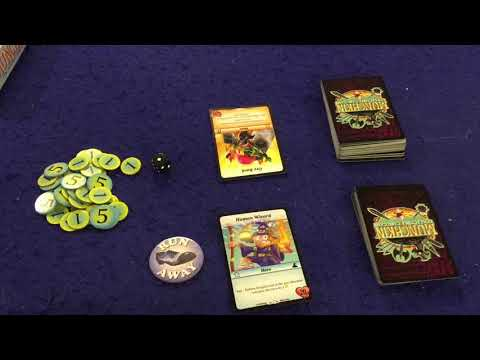 Bower's Game Corner: Munchkin Collectible Card Game *CCG* Review