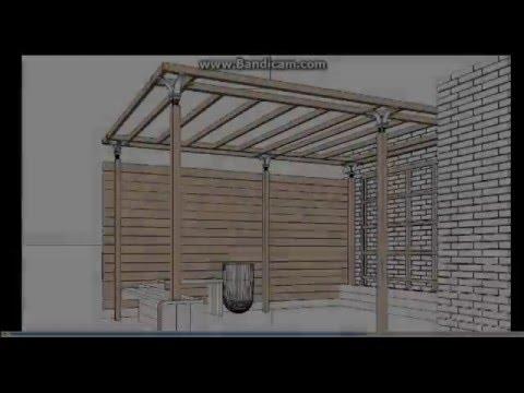 Progettazione e realizzazione pergole e gazebi per for Arredi esterni per terrazze
