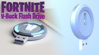 NEW Fortnite MERCH! V-Buck USB | Fortnite Concept