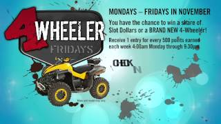 4 Wheeler Fridays