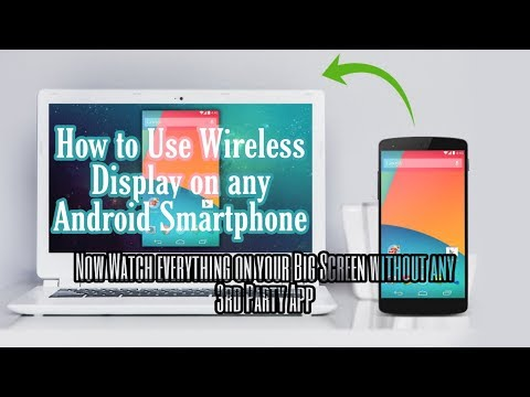 How to cast Wireless Display on Windows 10 using Android (2019)