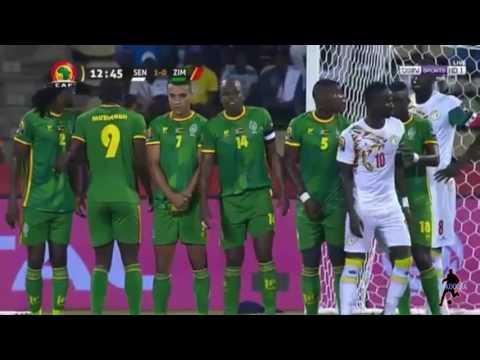 أهداف مباراة السنغال 2 - 0 زيمبابوي من كأس أمم إفريقيا 2017 بالغابون