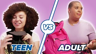 Teen Vs. Adult What's In My Bag • Jazzmyne