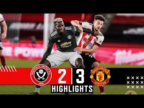 Sheffield United 2-3 Manchester United | Premier League Highlights | Rashford, Martial, McGoldrick