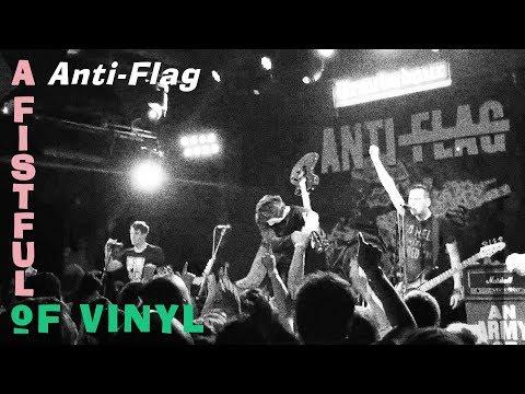 AntiFlag  Should I Stay or Should I Go The Clash  A Fistful of Vinyl @ Troubadour