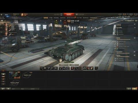 World of Tanks CZ (223.díl) - AMX 13 57F thumbnail