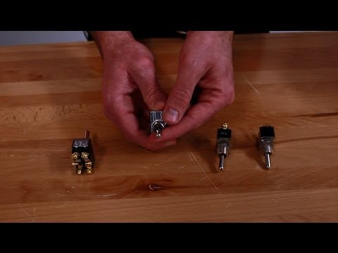 What Is A Single Pole Or Double Pole Electrical Switch Youtube