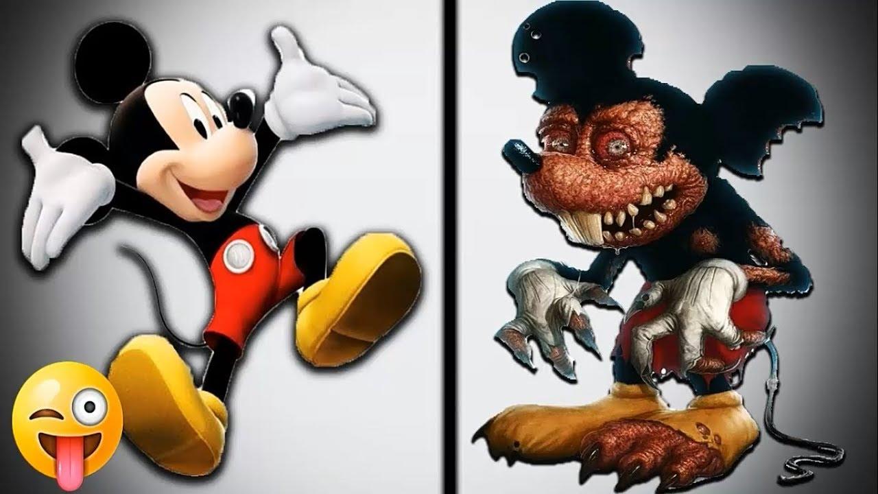 top 10 personajes de dibujos animados como monstruos youtube