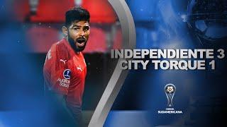 Independiente vs. Montevideo City Torque [3-1] | RESUMEN | Fecha 2 | CONMEBOL Sudamericana 2021