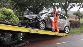 Vier gewonden na ongeval bij Nieuwleusen