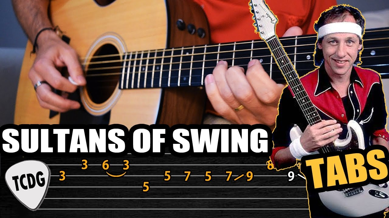 Como Tocar El Solo De Sultans Of Swing En Guitarra Acústica Tablaturas Tcdg Youtube