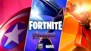 Maybe Upcoming Fortnite Avengers Skin Concepts!! (Iron Man, Captain America, Spider-Man)