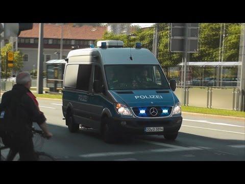 [BITTE STEHEN BLEIBEN!!!] Polizei Dresden eskortiert zivilen Hilfskonvoi + Lautsprecherdurchsage