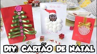 DIY: Cartão de Natal
