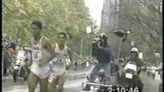 German Silva New York Marathon 1994 Wrong Turn (vuelta equivocada)