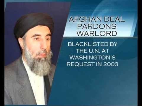 Afghanistan strikes peace deal with warlord Gulbuddin Hekmatyar