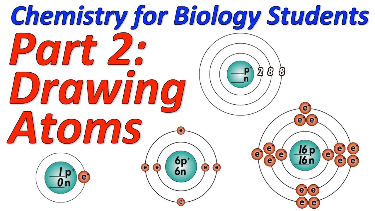 Basic Chemistry Tutorial 2 Drawing Atoms Sciencemusicvideos