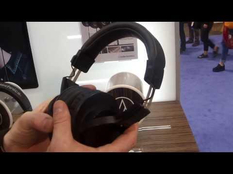 Nova Musik - Audio-Technica ATH-M20x Professional Monitor Headphones At NAMM 2014