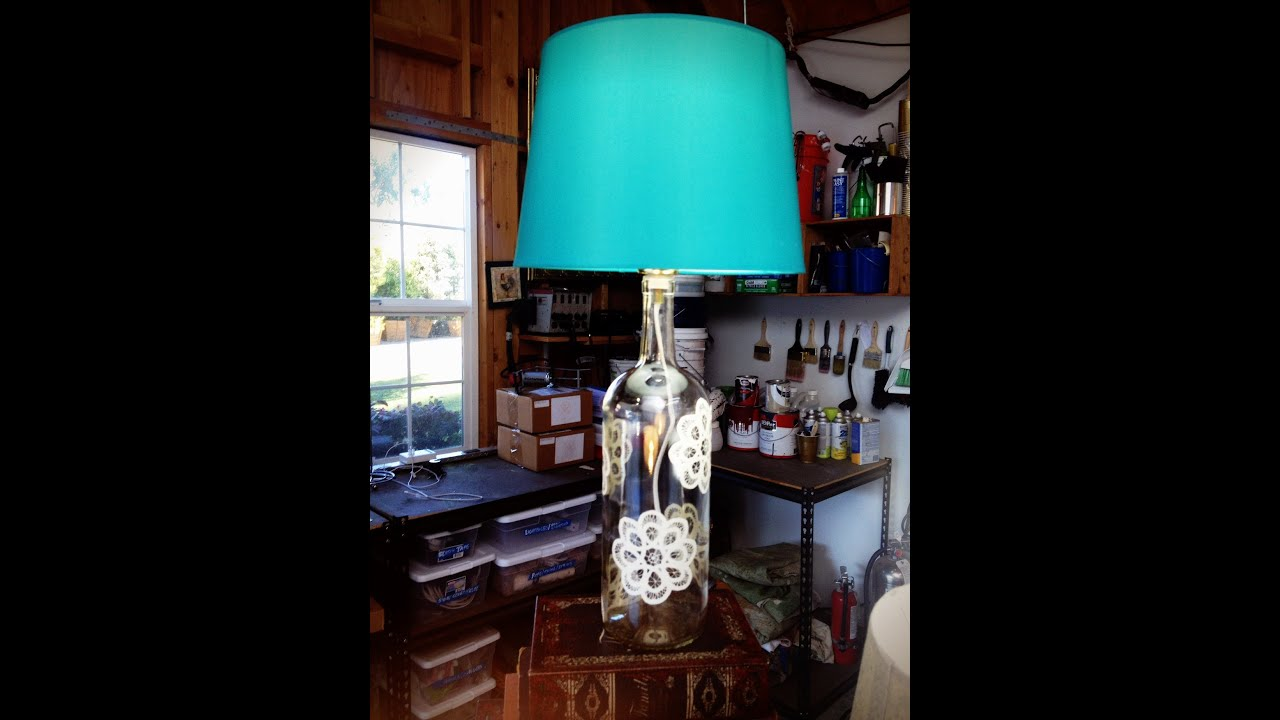 Wine bottle lamps diy by tanya memme as seen on home family wine bottle lamps diy by tanya memme as seen on home family on hallmark channel youtube geotapseo Images