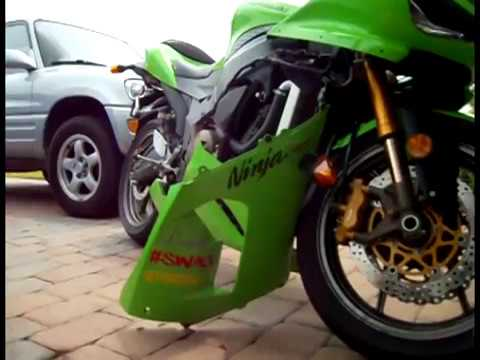 How To Install Flush Mount Turn Signals on a 2005 ZX6RR - YouTube Kawasaki Ninja Wiring Diagram on
