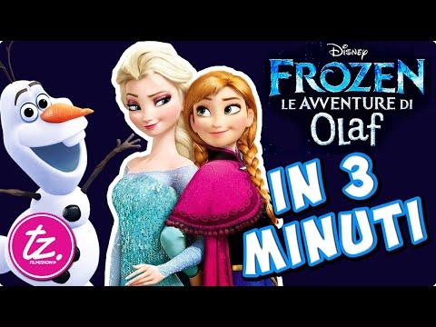 FROZEN - LE AVVENTURE DI OLAF | Raccontato in 3 Minuti - Film Disney