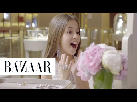Little Girls Try On NYC's Most Expensive Jewelry