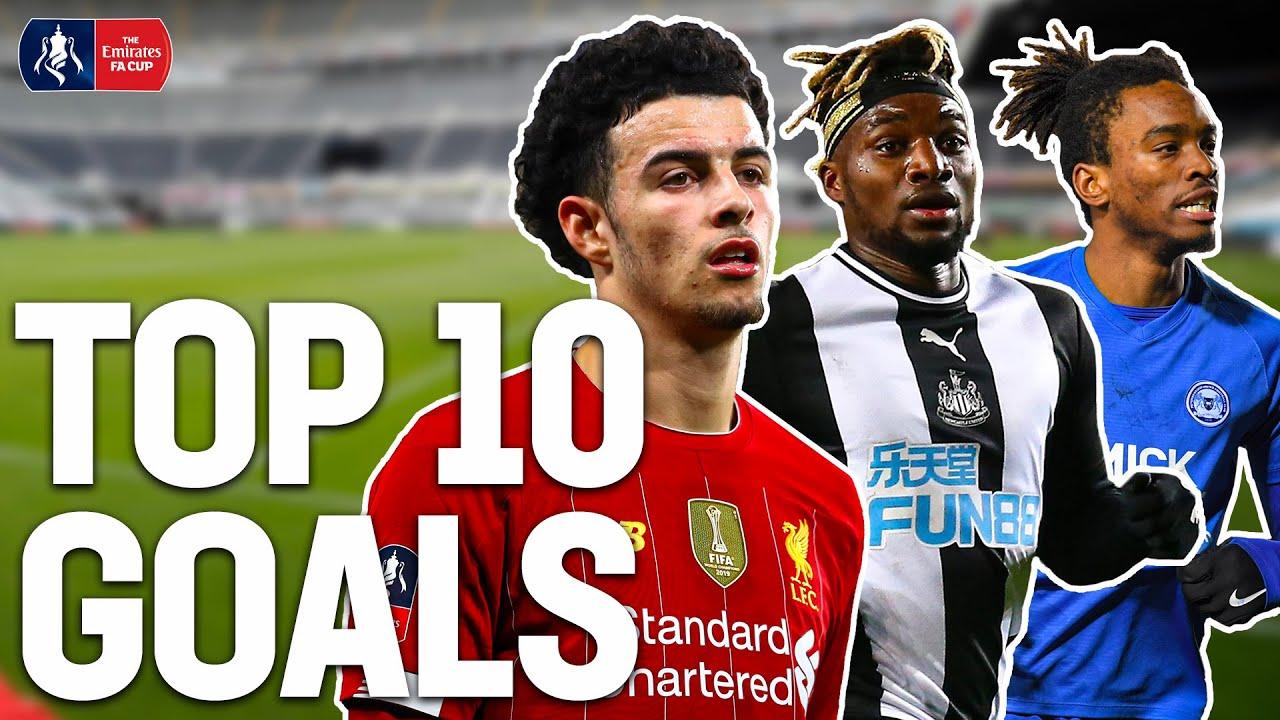 TOP 10 GOALS FROM 2019/20 SEASON 💥  Jones, Saint-Maximin, Toney | Emirates FA Cup 19/20