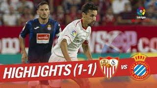 Resumen de Sevilla FC vs RCD Espanyol (1-1)