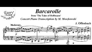 A barcarole is folk song sung by venetian gondoliers.the was popular form in opera, where the apparently artless sentimental style of folkl...