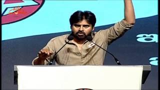 Pawan Kalyan Emotional About Telangana - Jana Sena Party Launch - Speech Live | Silly Monks