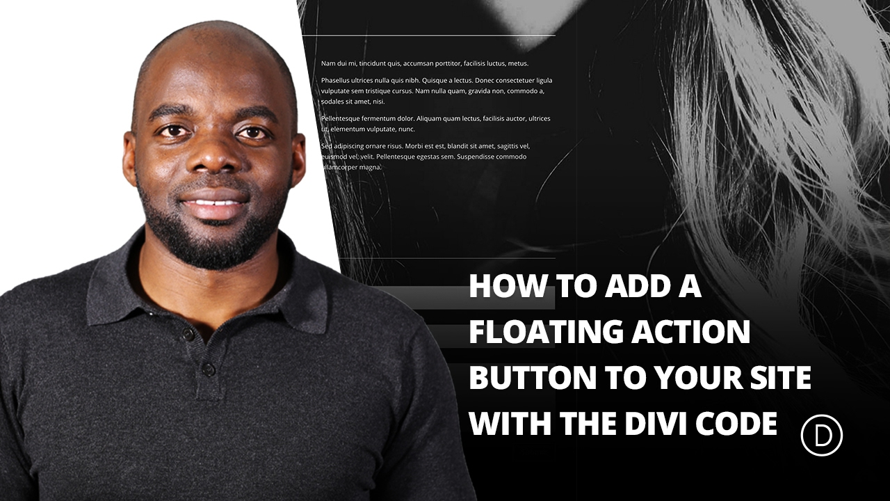 How to Add a Floating Action Button to Your Site with the Divi Code